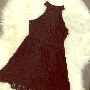 Cute black party dress. Size LARGE.